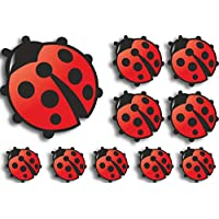 Lady Bird Decals Car Stickers Graphics Nursery Wall Window Decorations Art
