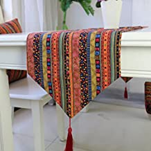 moderna decoración del partido rectángulo mesas de restaurante ropa de mesa paño corredor 30x200cm 11.8x78.7 pulgadas