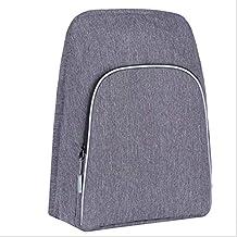 Backpack Zaino per Computer, Tracolla Anteriore Rimovibile, Zaino Multifunzione USB di Grande capacità,E-15.6inch