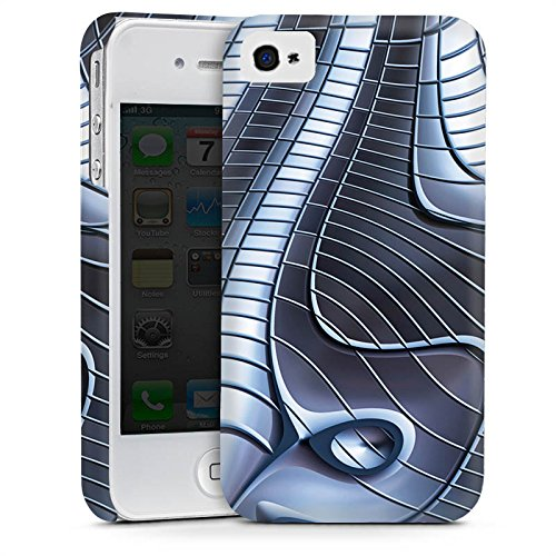 Apple iPhone 5s Housse Étui Protection Coque Métal Fer Structure Cas Premium mat