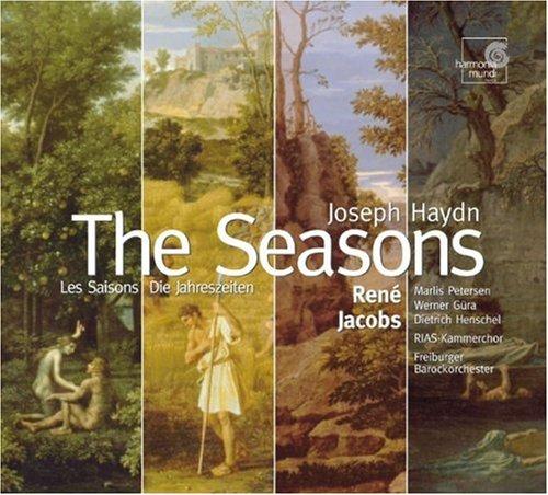 Haydn - Die Jahreszeiten / Petersen · Güra · Henschel · RIAS-Kammerchor · Freiburger Barockorchester · Jacobs