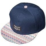 Belsen Damen Hip-Hop Flicken Baseball Cap Trucker Hat Kappe Hut (Marine)