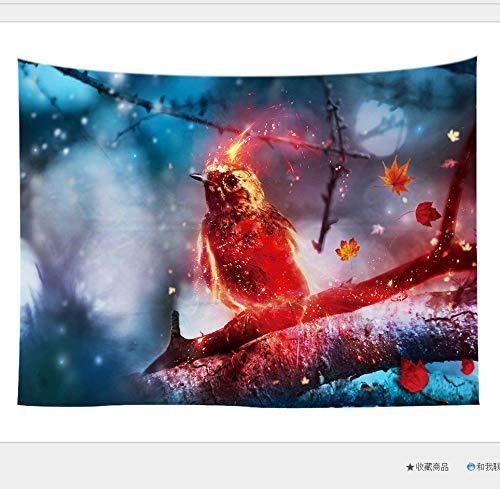 jixiaosheng Serie Animal Tapiz Impresión Hogar Pared Colgante Decoración De La Pared Toalla De Playa Cojín