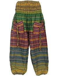 Damenhose Pumphose / Pluderhose / Aladinhose in Ethno - Style, Baggy