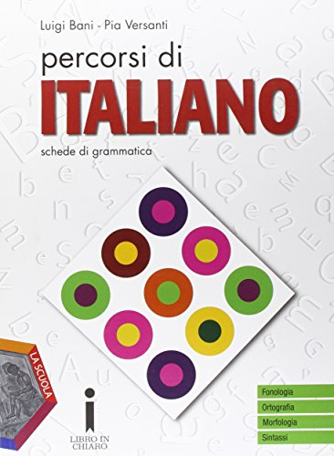 Percorsi di italiano. Schede di grammatica. Per gli Ist. professionali. Con e-book. Con espansione online