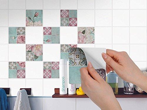 Stickers da muro adesivo per bagno piastrelle adesivi per