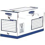 Bankers Box 4472902 Heavy Duty Archivschachtel, 100% recycelt, 20-er Pack, 200 mm