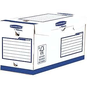 Bankers Box 4472902 Basic Scatola Archivio Extra Robusta A4+, Dorso 200 mm, FSC, Confezione da 20