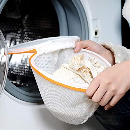 ShireyStore Einfach und langlebig Zylindrische Mesh Grid Unterwäsche BH Waschbeutel Wäschebeutel für Waschmaschine