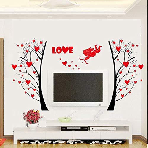 tergrund wohnzimmer dekoration diy pflanze wandbild kunst abziehbild schälen und stick poster ()