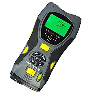 Brand New 5 in 1 Distance Meter Stud Metal Live Wire Detector and Laser Marker