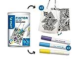 Pilot -Pilot Pintor - Kit créatif - Sac personnalisable - Couleurs assorties - Pointe Fine
