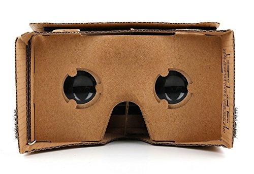 DURAGADGET Entdecken Sie die Welt der 3D-Spiele: Faltbare Cardboard Brille für das Samsung Galaxy...