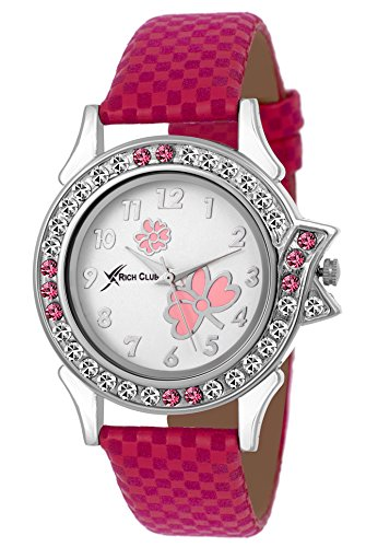 Rich-Club-Analogue-White-Dail-Womens-Girls-Watch-Rc-Lui-Pink