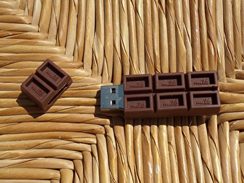 Chocolate-unidad-flash-USB-16-GB-Memory-Stick-Almacenamiento-de-Datos-Pendrive