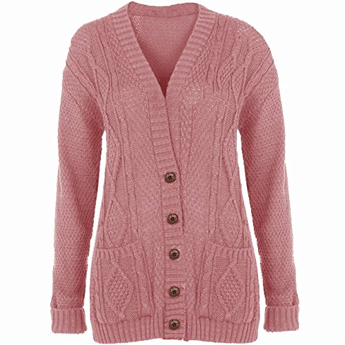 Be Jealous -  Cardigan  - Donna Baby Pink