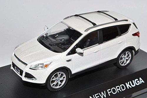 ford-kuga-ii-escape-perlmutt-metallic-weiss-ab-2012-1-43-greenlight-modell-auto-mit-individiuellem-w