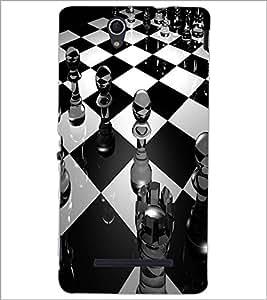 PRINTSWAG CHESS BOARD Designer Back Cover Case for SONY XPERIA C3