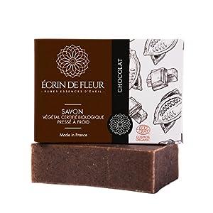 jabón orgánico chocolate