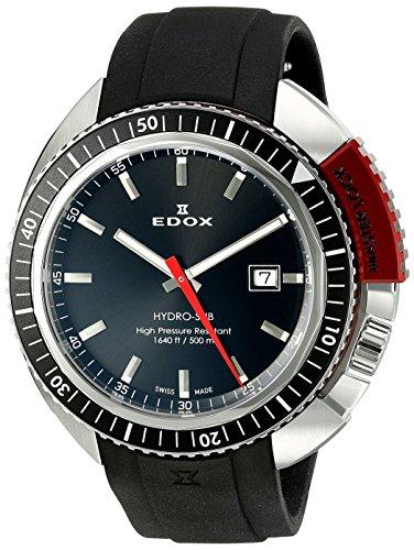 EDOX Unisex-Armbanduhr EDOX HYDRO SUB Analog Quarz Kautschuk 53200 3NRCA NIN