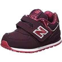New Balance 373v1, Zapatillas Unisex Niños, Rojo (Burgundy), 32 EU