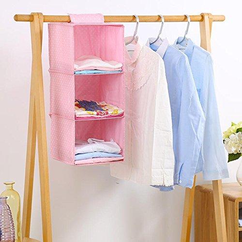ERRU- Poche Pendaison Sac multi-fonctionnel de stockage, boîte de rangement en tissu, sac de rangement de garde-robe, Suspendre les vêtements de type sac de rangement, boîte de rangement sous-vêtements multi-magasins ,de Rangement Suspendu Organiseur ( couleur : # 4 )