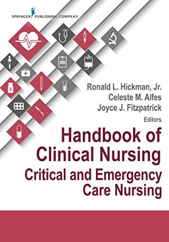 Handbook Of Clinical Nursing: Critical And Emergency Care Nursing: Critical Care por Ronald, Phd, Acnp-bc, Fnap, Faan Hickman epub