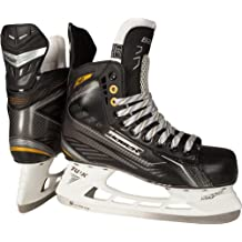 Bauer Schlittschuhe Supreme 160 - Junior - Patines de hockey sobre hielo, color negro, talla 05.0 / 38.5