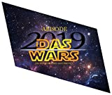 1art1 Schule - Abisode 2019 Das Wars Wand-Tattoo Aufkleber Poster-Sticker 32 x 27 cm