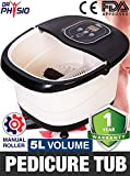 Dr Physio (USA) Electric Powerful Foot Spa Body Massager Machine with Manual Roller