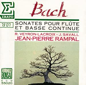 Sonatas For Flute and Basse Continue