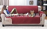 WYN123 Coussin de canapé pour Chien de Compagnie, Tapis de Maison gaufré pour ultrasons, résistant aux Chocs et à l'usure, Rouge, 116cm x 188cm