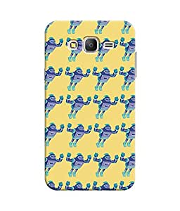 """NH10 DESIGNS 3D PRINTING DESIGNER HARD SHELL POLYCARBONATE """"PATTERN"""" PRINTED SHOCK PROOF WATER RESISTANT SLIM BACK COVER MATT FINISH FOR SAMSUNG GALAXY ON 5 2015"""