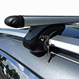 VDP L120 Aluminium Roof Rack Rails for Up to 90