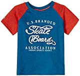 Blue Giraffe Boys' T-Shirt (SS15/BA/07_N...