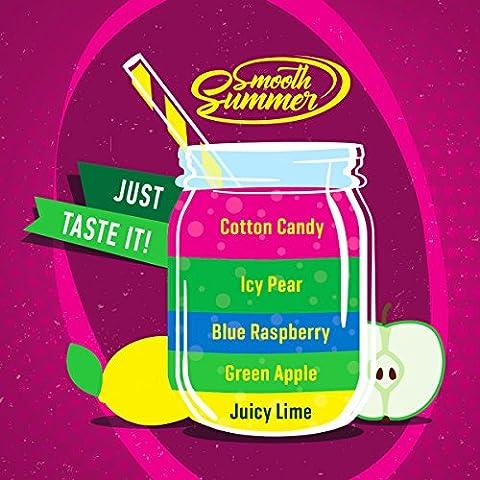 Juicy Lime – Green Apple - Blue Raspberry – Icy