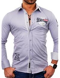 Bradley Hemd Herren VIP Freizeithemd Langarm Hemd B-299