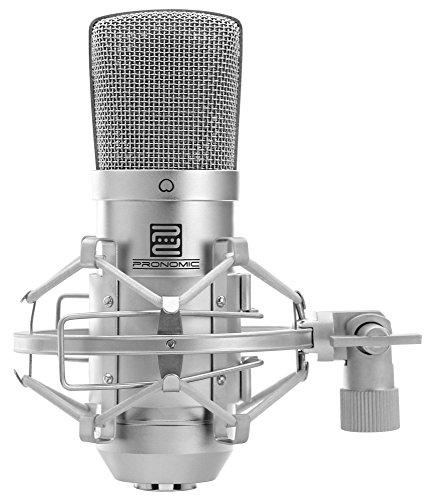 Pronomic CM-10 Studio Großmembranmikrofon XLR-Kondensatormikrofon (1