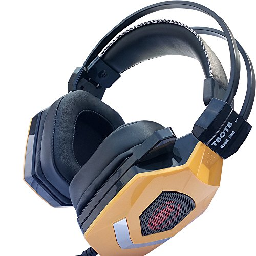 Price comparison product image Strengthened Virtual 7.1 Channel SOUND EFFECT GAMING HEADSET (YELLOW)