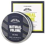 [Etude House] Gentle Black Natural Volume Gel Wax 65g