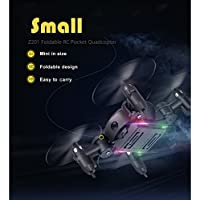 RC Pocket Quadcopter 2.4G Gyro Headless Mode Drone Dron 3D Unlimited Flip RTF LED Light Flying Helicopter