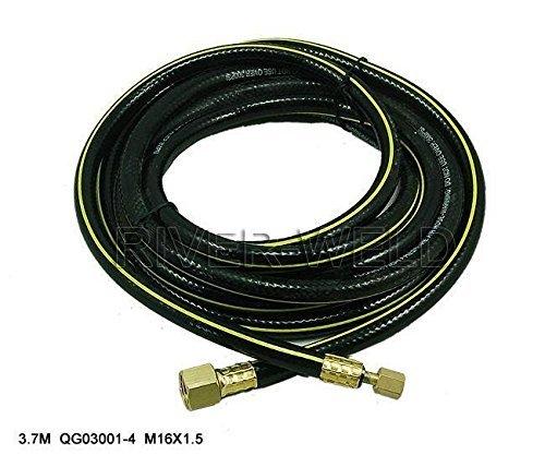Stromkabelschlauch für SG-51 Plasma Schneidbrenner 1-1/2 Füße M16*1,5 & 3/8-24 (Plasma-füße)