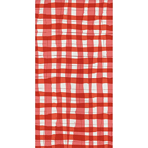 Elise Gingham Gästetücher 4. Juli CLAMBAKE Picknick Beach Party Country Decor PK 32