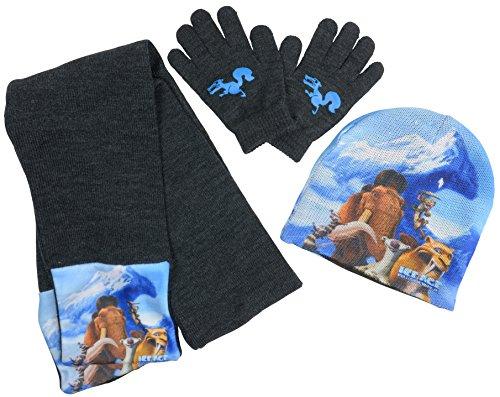 ice-age-set-invernale-cappello-sciarpa-e-guanti-per-bambini-da-lera-glaciale-5-in-rotta-di-collision