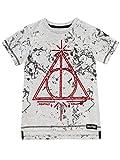 HARRY POTTER Jungen Deathly Hallows T-Shirt Grau 146