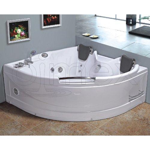 OimexGmbH Eckwhirlpool 150 x 150 cm 2 Pers. 'Helsinki' Whirlpool Badewanne