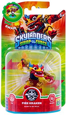 Skylanders Swap Force - Swappable Character Pack - Fire Kraken (Xbox 360/PS3/Nintendo Wii U/Wii/3DS)