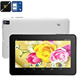 Generic Android Tablet PC - Quad-Core, Bluetooth, OTG, 8GB ROM, 16GB SD Card Slot, 9-Inch HD Display, 3200mAh, WiFi