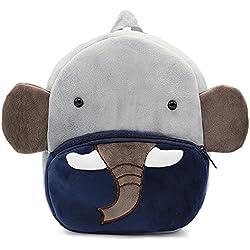 Bcony Mignon Sac à Dos Enfants, Mini Sac d'enfants éléphant Zoo pour Les Petits garçons ou Filles