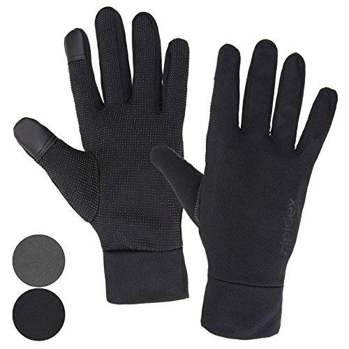 ALPIDEX Leichte Sporthandschuhe Laufhandschuhe Running Handschuhe Unisex Sport Handschuhe Nordic Walking Handschuhe für Damen und Herren mit Touchscreen-Funktion